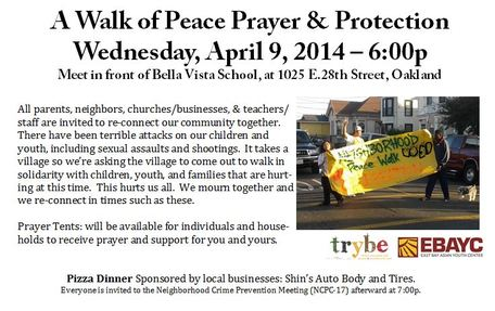 A Walk of Peace, Prayer, and Protection